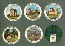 Collectable TRADE cards set Scottish Clans & Tartans by Teachers Whisky (1)